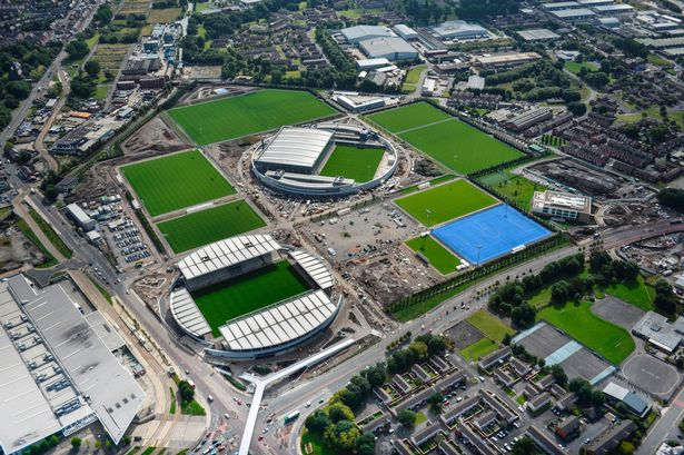 NIC add sparkle to Manchester City's new £200m Training Academy