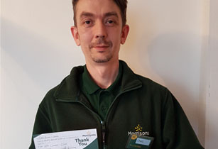 Cleaning Manager receives recognition from Morrisons