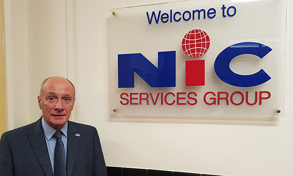NIC welcome their latest member of the team